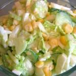 Салат для похудения с капустой и сельдереем