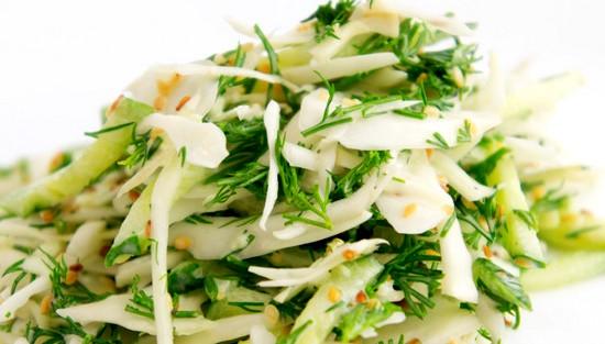 рецепты салатов в пост с маслом