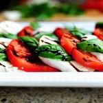 Салат Капрезе - вариант срвировки