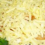 Салат с говядиной слоеный