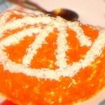 Апельсиновая долька - салат ко дню рождения