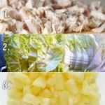 Салат с пекинкой, ананасом и курицей - пошаговый рецепт