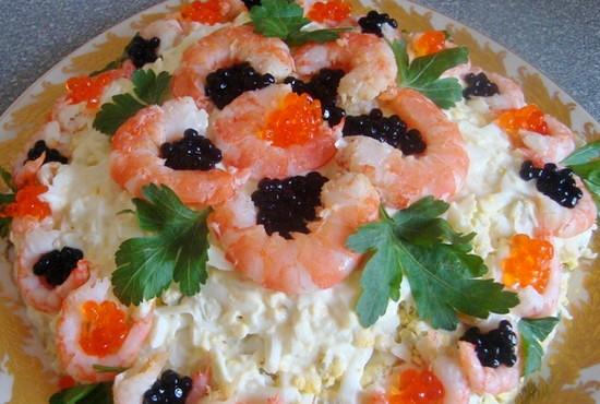 Самый вкусный праздничный салат рецепт с