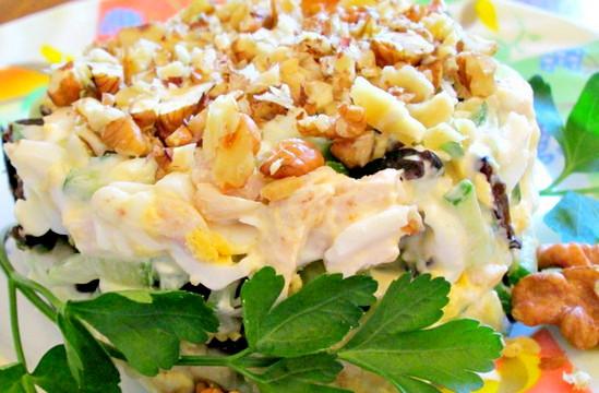 Вкусный салат для мужчин