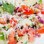 Шопский салат из Болгарии