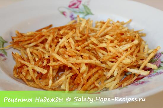 Картофель пай для украшения праздничного салата