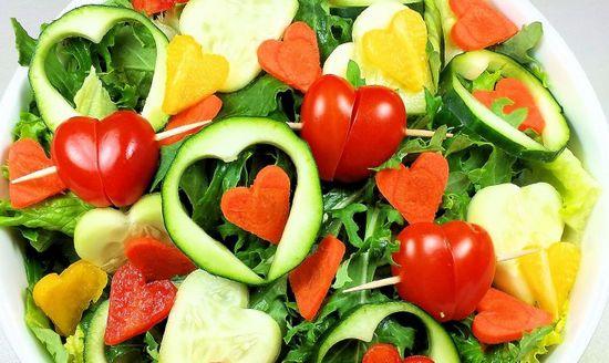 Овощной салат на 14 февраля